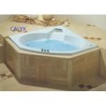CALYX IANIRA 三角形按摩浴缸
