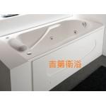 130cm強化壓克力空缸+雙牆右排水w130*d72cm特價 $5800元