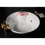134*134cm圓型強化壓克力空缸&按摩浴缸