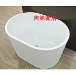 100*70*58cm高亮度強化壓克力獨立浴缸