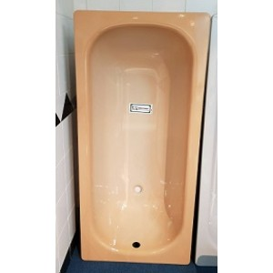 Smalearl Viterbaese 義大利原裝進口鋼板琺瑯浴缸-雙桔色150*70cm