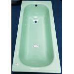 Smalearl Viterbaese 義大利原裝進口鋼板琺瑯浴缸_蘋果綠150*70cm