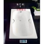 BLB豪華加厚型3.5mm鋼板琺瑯浴缸w150*D75cm
