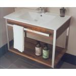 造型摩登磁盆浴櫃組w75
