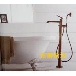7129-D101 立柱式浴缸龍頭-古銅色