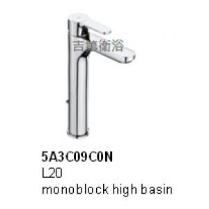 5A3C09C0N 加高面盆龍頭Roca -L20