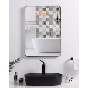 13177050黑鋁框長方鏡特價 $4550元