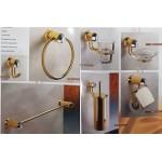 Oriente 義大利原裝進口水晶配件K金色七件組特價 68000元
