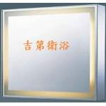 不鏽鋼亮框LED 燈鏡 w70~w110cm可直掛或橫掛