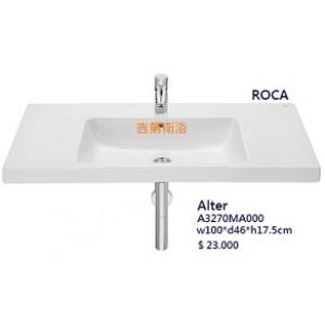100cm ROCA一體磁盆&可掛牆or 定製浴櫃w100*d46cm