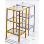 Gedy義大利進口玻璃三層置物架特價 $2800元