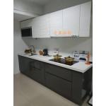 歐化櫥具含石英石檯面w286cm