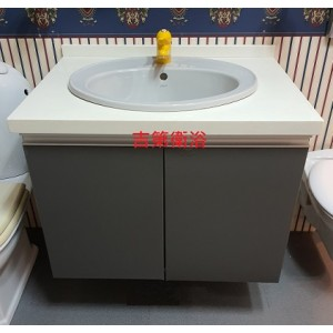 77*57cm 石英石檯面+防水櫃+進口面盆+進口水龍頭特價 $15500元