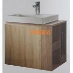 65cm 木紋防水櫃+右側開放櫃 特價$10500元
