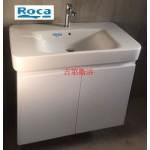 Roca大方厚磁盆浴櫃組w85cm 特價 $21800元