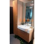 w82半崁浴櫃組+w40cm高身置物櫃特價 $23000元