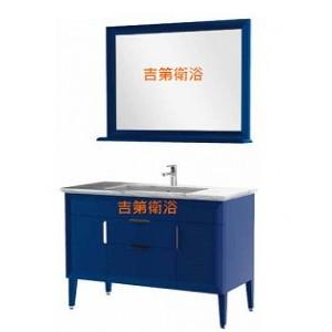 120cm英式風格新古典實木浴櫃組w120*58cm