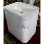 5616CE(TOTO)鋼琴烤漆弧型防水下櫃 w60*45cm 特價12500元