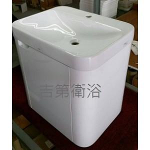 5616CE(TOTO)鋼琴烤漆弧型防水下櫃 w60*45cm 特價11500元