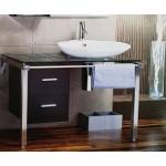 100cm玻璃檯面浴櫃組-門市樣品特價 18,000元