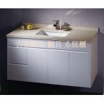 虎班紋石英石檯面浴櫃1225