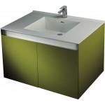 進口一體磁盆+防水浴櫃