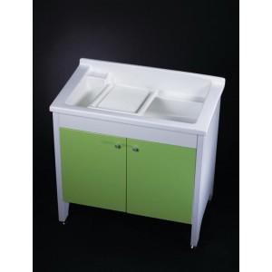 人造石新式實心活動洗衣槽w90