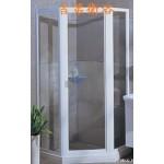 Gedy 五角型有框式玻璃淋浴門w90~w120cm