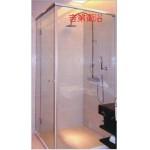GEDY L型水密型單門外開淋浴門