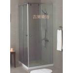 L型轉角對開無框淋浴門強化玻璃8mm 尺寸w90~120cm