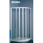 ROMA義大利原裝進口圓弧型淋浴門六片式90*90cm