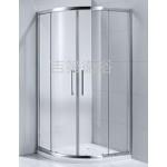 GEDY 1/4圓弧型銀框or 白框4門 w90~w120cm